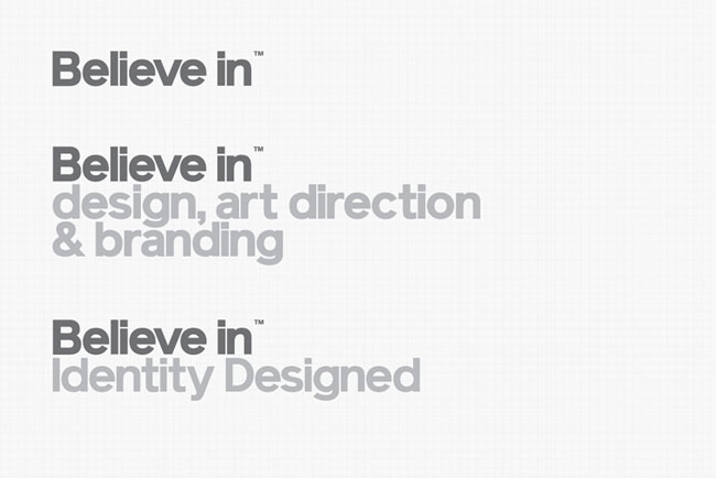 Believe in Identity Designed