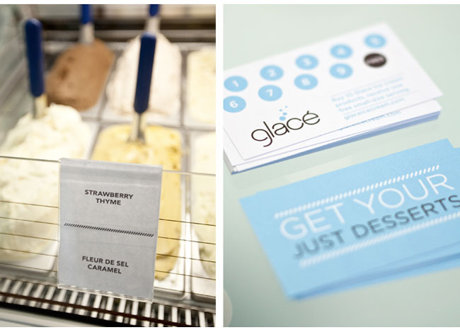Glace business card