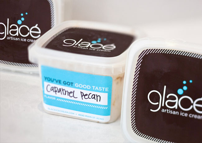 Glace flavours